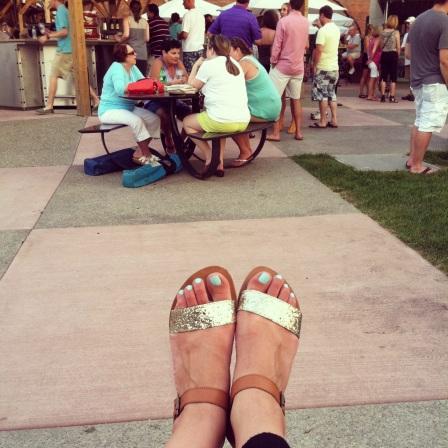 Larkin feet